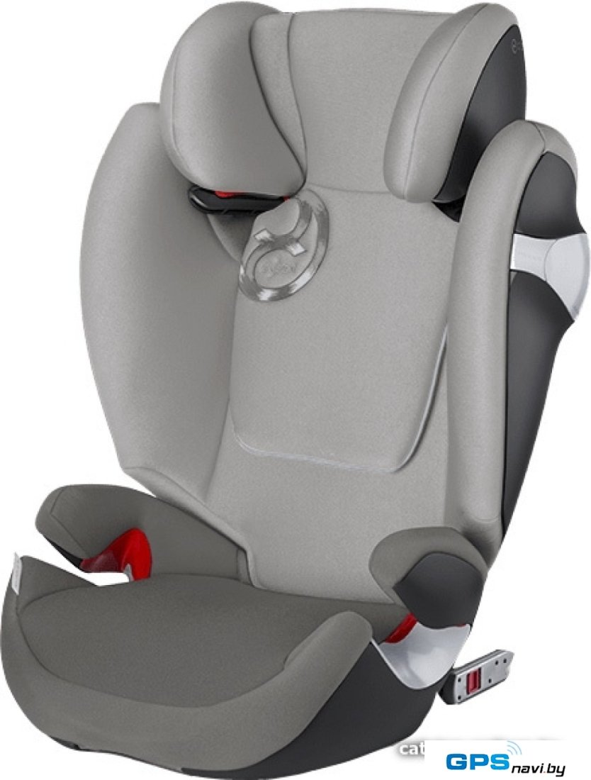 Детское автокресло Cybex Solution M-Fix (Manhattan grey)