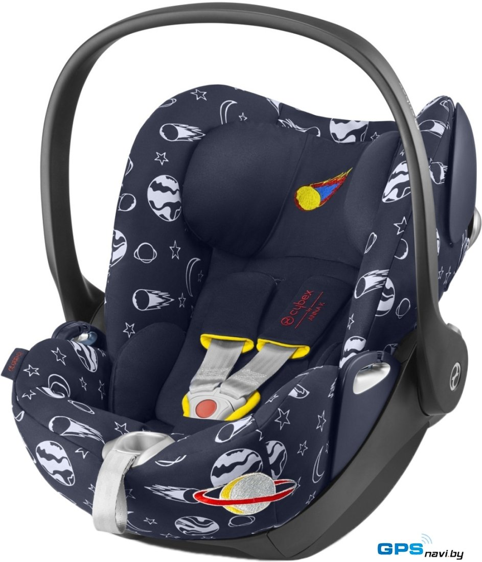 Детское автокресло Cybex Cloud Q (space rocket by Anna K)