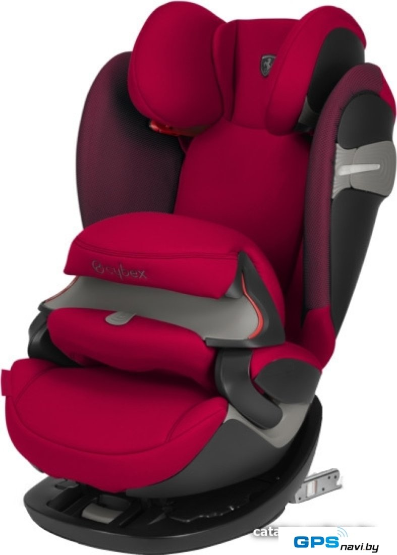 Детское автокресло Cybex Pallas S-Fix (Scuderia Ferrari racing red)