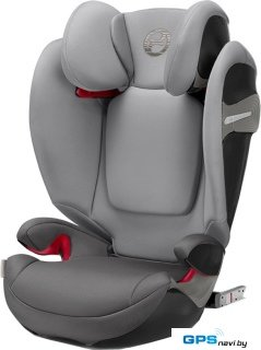 Детское автокресло Cybex Solution S-Fix (Manhattan grey)