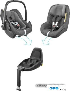 Детское автокресло Maxi-Cosi 2wayFamily Concept (Triangle Black)
