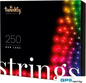 Гирлянда Twinkly Strings 250 LEDs Multicolor
