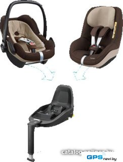 Детское автокресло Maxi-Cosi 2wayFamily Concept (Earth Brown)