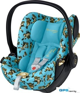 Детское автокресло Cybex Cloud Q (Cherub Blue by Jeremy Scott)