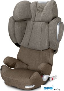 Детское автокресло Cybex Solution Q3-Fix Plus (cashmere beige)