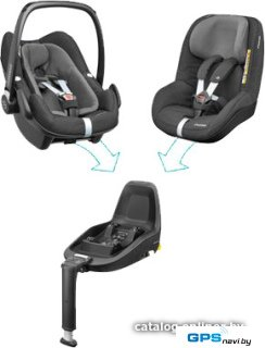 Детское автокресло Maxi-Cosi 2wayFamily Concept (Black Diamond)