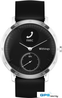 Умные часы Withings Steel HR 40mm Black